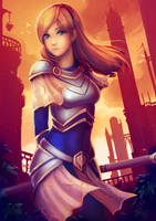 LoL - Light of the Sunset by cubehero