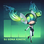 LoL - 3D DJ Sona Kinetic Chibi Render