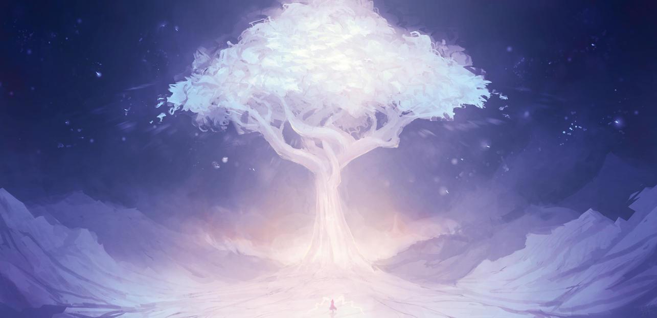 Celestial Tree By Cubehero On Deviantart