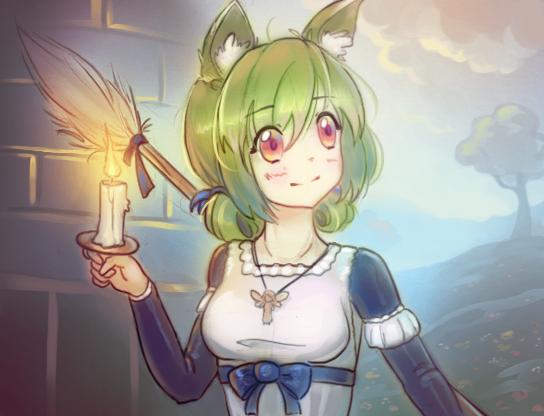 GAME: Kitsune Dungeon Maid (+) by cubehero