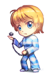 Street Fighter - Cody Chibi by cubehero
