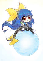 Guilty Gear - Dizzy Bubble Chibi by cubehero