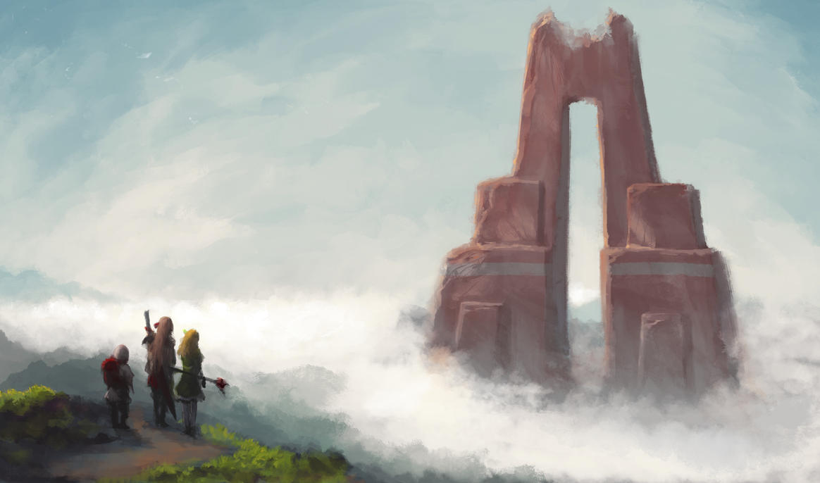 The Unreachable Gate by cubehero
