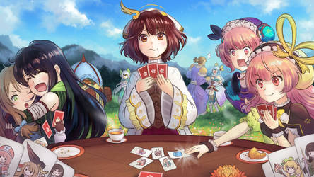 Atelier - Playing Cards by cubehero