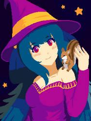 Guilty Gear - Pixel Witch Dizzy by cubehero