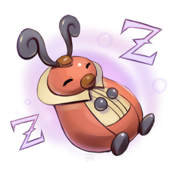 Pokemon - Kricketot used Snore! by cubehero