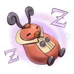 Pokemon - Kricketot used Snore! by cubehero