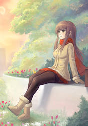 Autumn Girl II by cubehero