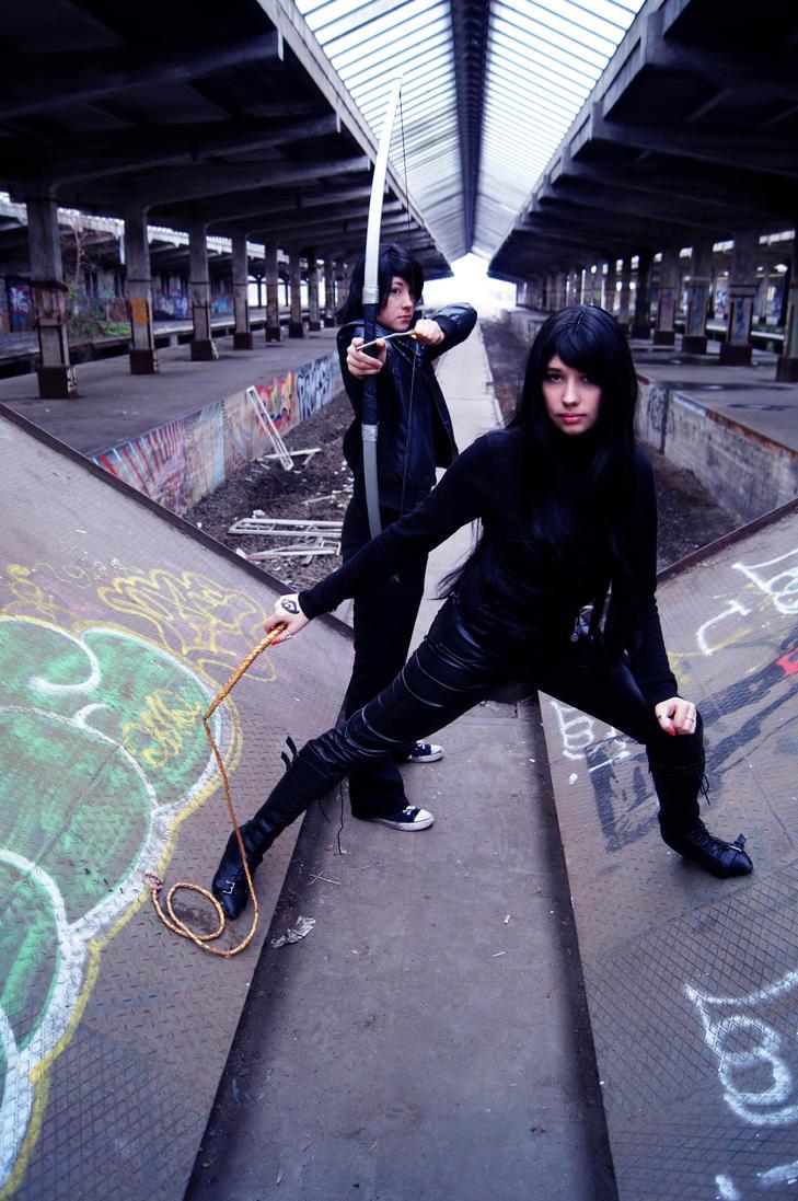 Ready to kick some Demonasses by Rina-Hatakeda