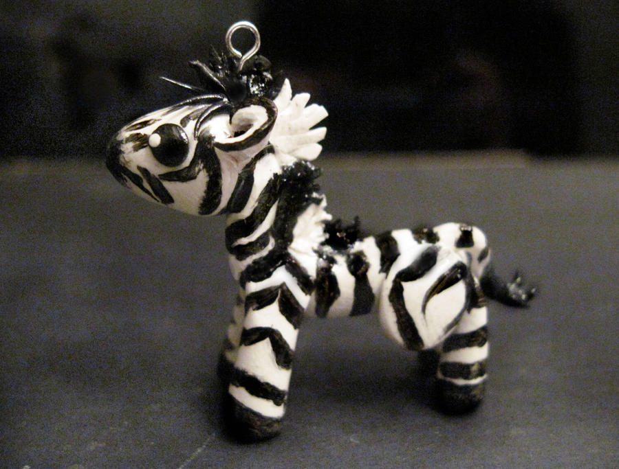 Zebra Charm by Blazesnbreezes