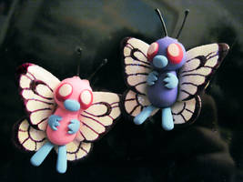 Pair of Butterfree! by Blazesnbreezes
