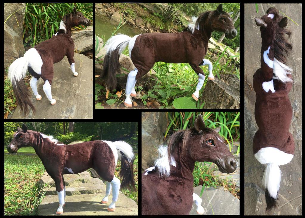 Horse Posable Art Doll by Blazesnbreezes