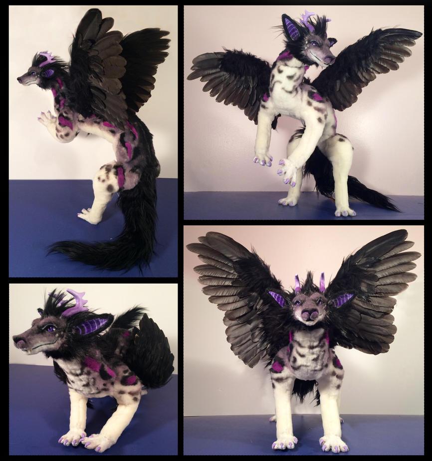 Jacob Dragon Poseable Art Doll by Blazesnbreezes