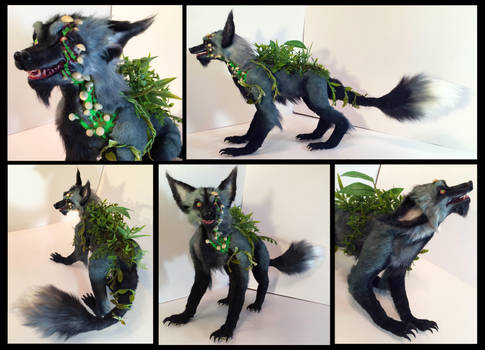 Gangrene Fox Poseable Art Doll