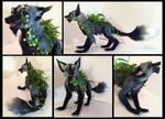 Gangrene Fox Poseable Art Doll