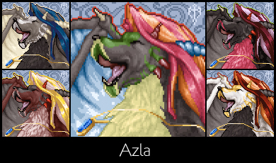 Azla - Furc Port by AzKai