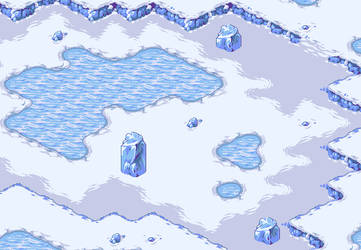 The Silver Tassle - The Snow Fields by AzKai