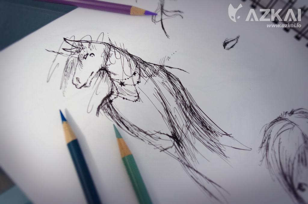 Unicorn Sketch by AzKai