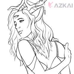 Shearling Sketch by AzKai