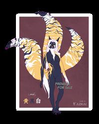 002 Kitsune Adopt - ''Ki'' by AzKai