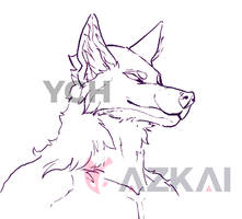 YCH Wolf Anthro