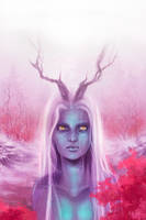 dryad by Ky-th