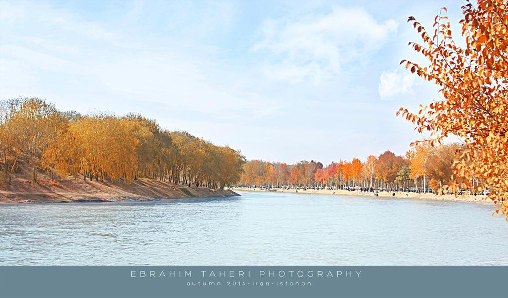 autumn isfahan by EBIPC