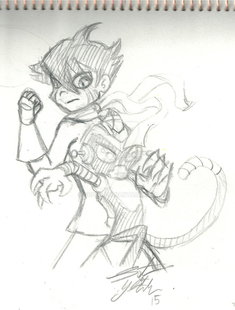:fanart: Prepare for fight :sketch: by Sofua