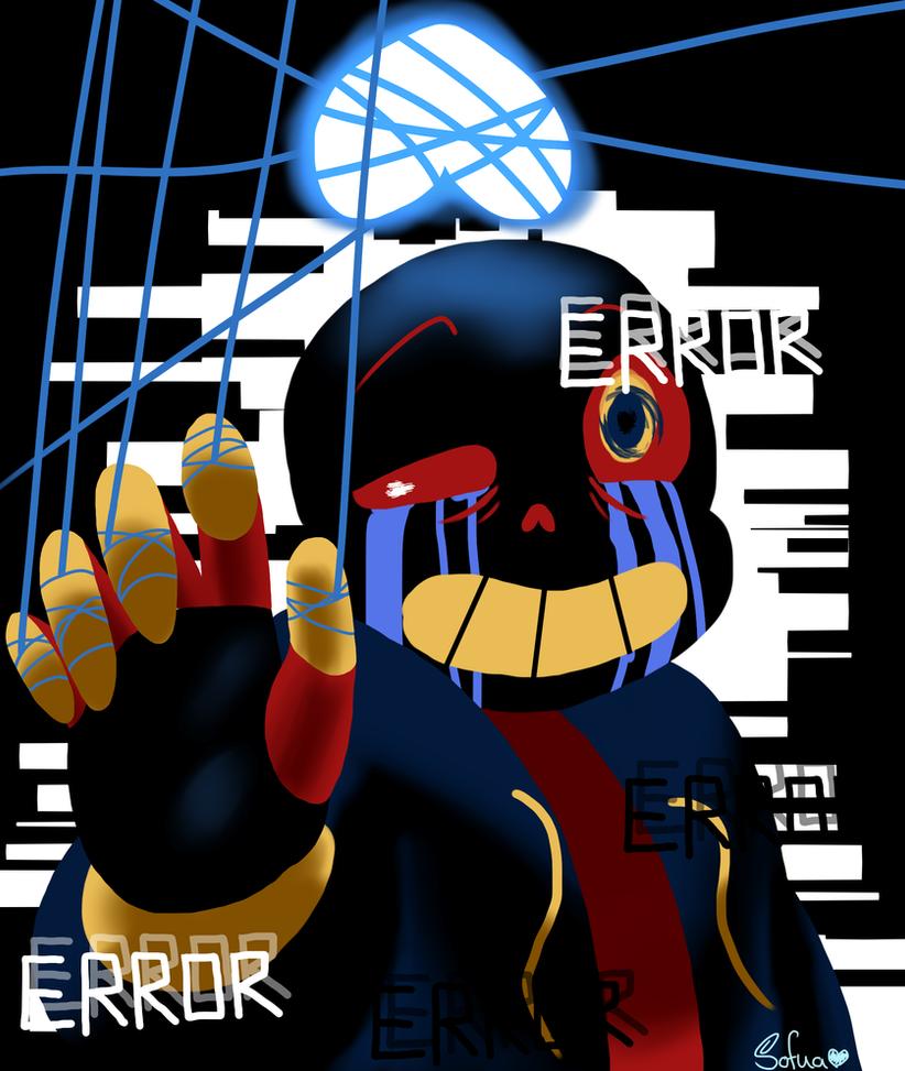 :Fanart: Errortale By Sofua On DeviantArt