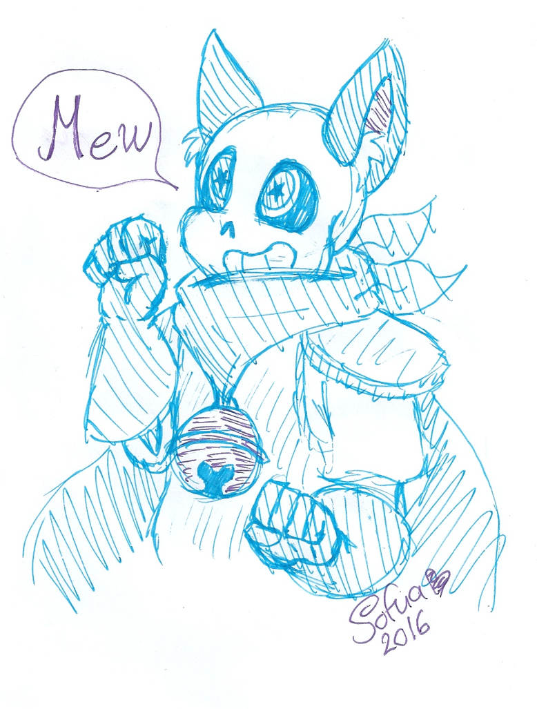 Sans With Cat Ears And Blushing