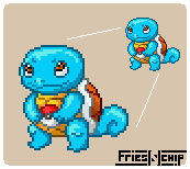 Squirtle - Half Hour Sprite
