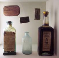 Antique Medicine 13 by s0urstock