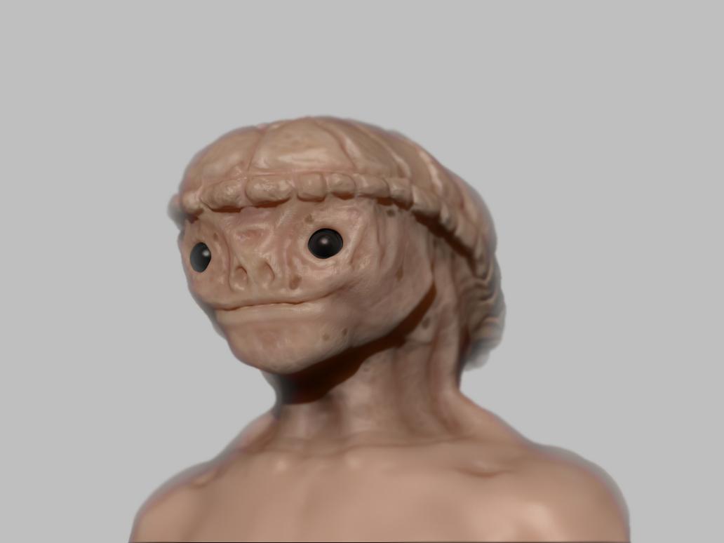 Zbfast - Turtle man by Zoyer2