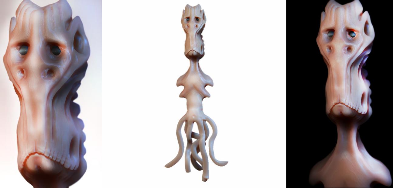 Elder Alien by Zoyer2