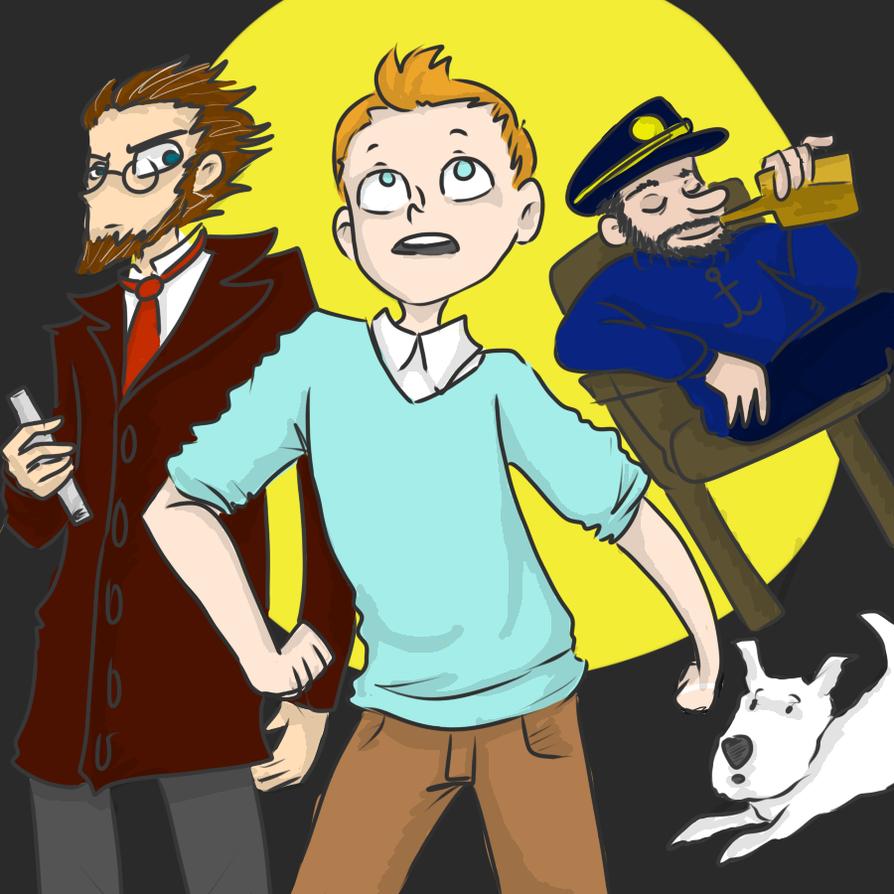 I saw Tintin by breckert