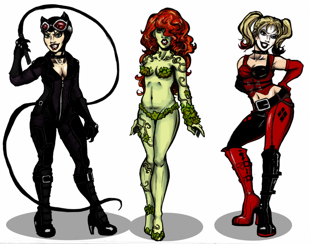 Arkham City Sirens by bruceliane