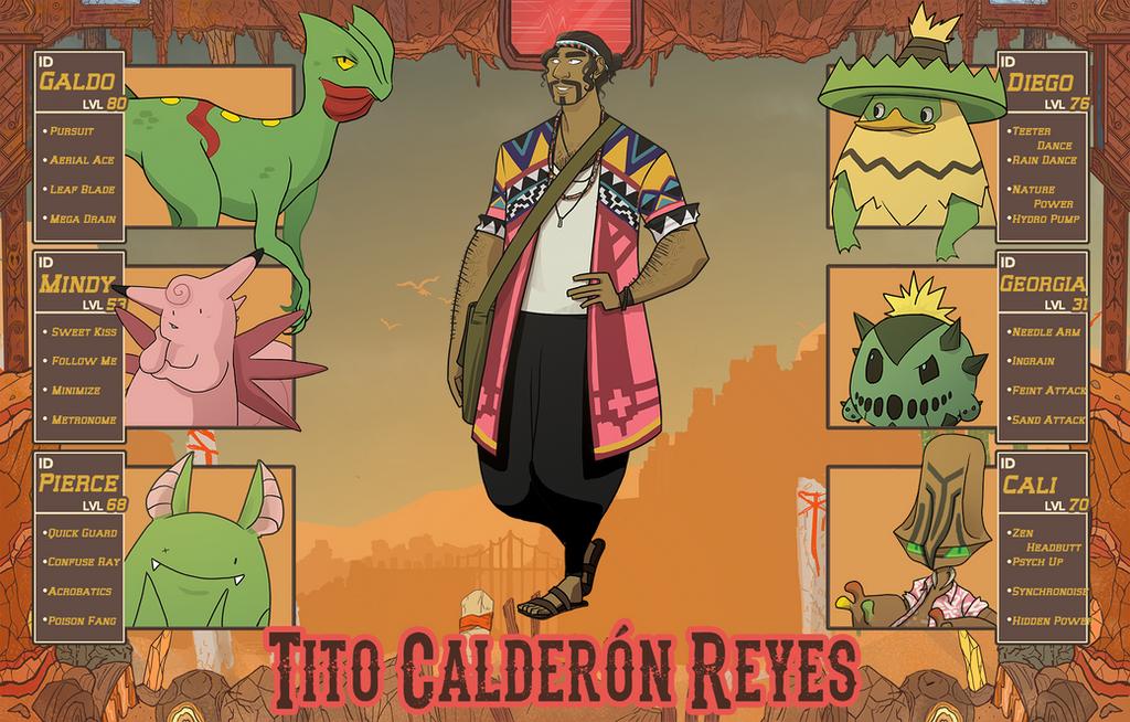 Tito Calderon by bruceliane