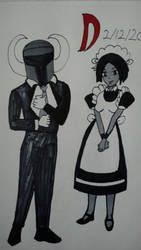 Ship Art Day 12 Master and Maid