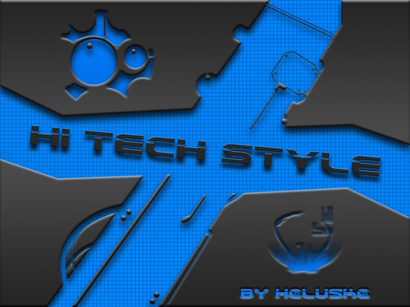 Hi Tech Style By Haluskaaa On Deviantart