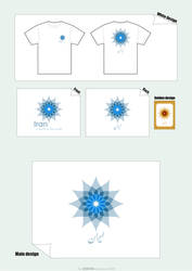 Iran T-Shirt 1 by Pedram
