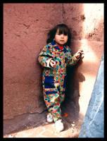 a Doll in village by Pedram