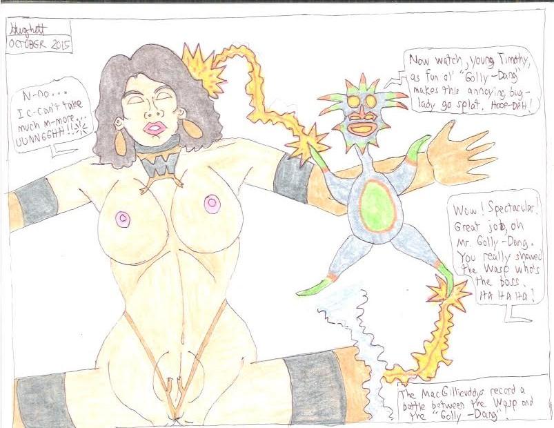 Annoying Bug-Lady by gytalf2000