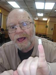 Odd Weird Fingernail Fellow