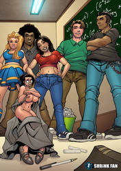 Tiny Teacher Troubles by shrink-fan-comics
