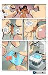 Nina Goes Under the Microscope by shrink-fan-comics