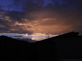 Ravange of sunset light (2)