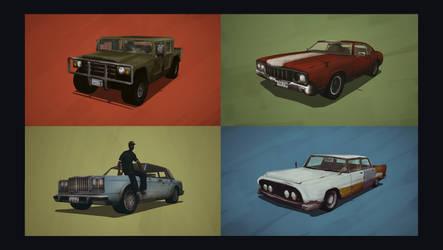 The Cars of GTA