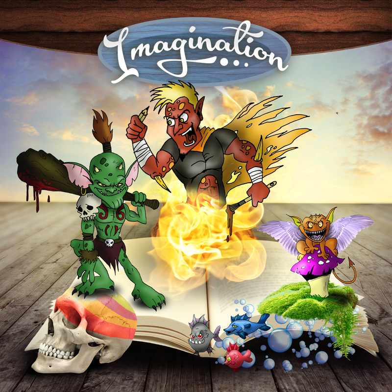 Imagination by DiggedyDrake