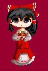 Pixel Reimu by CinnamonRollo