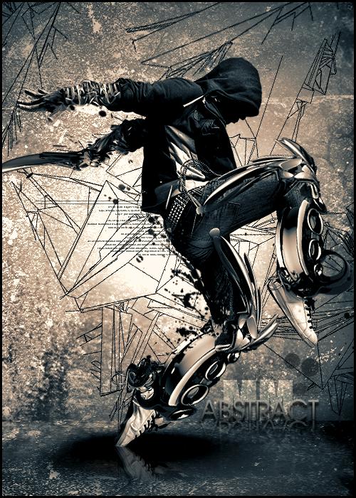 Abstarct Dancer by MMFERRA